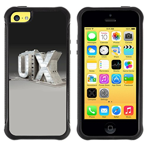 Zfresh Rugged Protective Case Cover - Ux - Apple Iphone 5C
