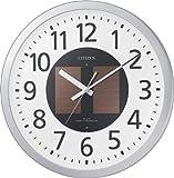 CITIZEN (シチズン) 電波ソーラー掛時計 エコライフM815 4MY815-019 4MY815-019