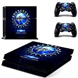 Game of Thrones House Stark Winter is Comming Creative Exclusive Original Decal Skin Stickers For Sony Playstation 4 PS4 Console + 2 Pcs For Controllers
