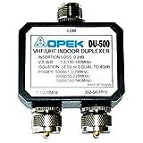 Opek DU-500 VHF/UHF Indoor Antenna Duplexer w/ SO-239, PL-259 Male Connectors