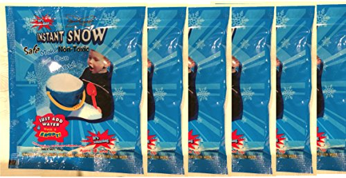 Amazing Instant Snow Powder - 6 Pack (10g./pack)