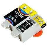 1 Compatible Set of Black & Colour Printer Ink Cartridges to replace Kodak 30 XL (2 Inks) for Kodak ESP 1.2, 3.2, 3.2S, C110, C310, C315, Office 2170, 2170 & Hero 3.1, 5.1