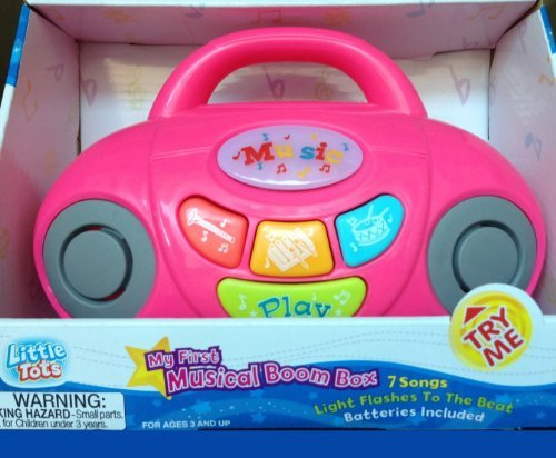 My First Musical Boom Box (Pink) - 1