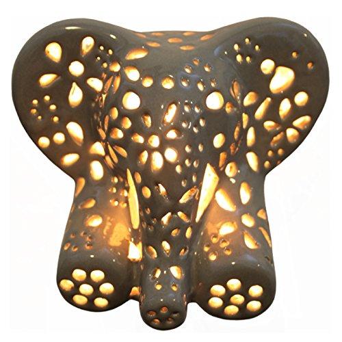 Animal Night Lights - Child's Night Light - Elephant (Gray)