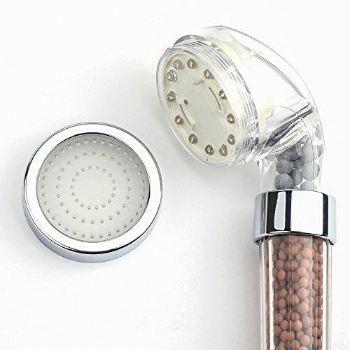 unusual items bestope magic negative ionic filter chlorine led shower head 3 colors changes. Black Bedroom Furniture Sets. Home Design Ideas
