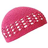 Luxury Divas Stretchy Crochet Beanie Skull Cap Hat