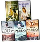 Annie Murray Annie Murray 5 Books Collection Pack Set (Chocolate Girls, Birmingham Blitz, Birmingham Friends, Birmingham Rose, Hopscotch Summer)