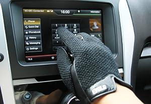 (エヴォログ)Evolg Driving 液晶タッチ対応手袋 LET 2302 BLACK L