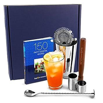 Bar drinkstuff kit pour r aliser des des cocktails - Livre de cuisine francaise en anglais ...