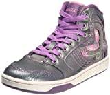 Geox trainers shoes kids j mania j silver [34 -uk 2]