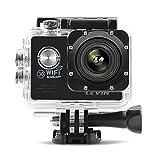 LEVIN 防水 スポーツカメラ 1400万画素 170度A+級高解像度広角レンズ デュアルバッテリー配置 ドライブレコーダー機能 SJ7000 (ブラック)