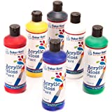 Acrylic Paint (Pack A) 175ml of 6 Assorted Colours Water-Based Paint for Children's Painting & Crafts- Pack of 6