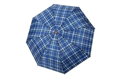 po-campo-rain-street-checks-umbrella-blue