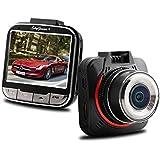 Skygenius mini ドライブレコーダー 400万画素 170°広視野角 1080P 衝撃録画対応 常時録画 吸盤タイプ