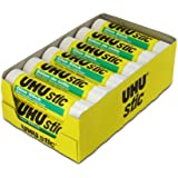 Saunders UHU Glue Stick, 1.41 oz., White, Pack of 12 (99655)