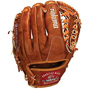Nokona Walnut WB-1150M Baseball Glove 11.5 Modified Trap (Right Handed Throw)