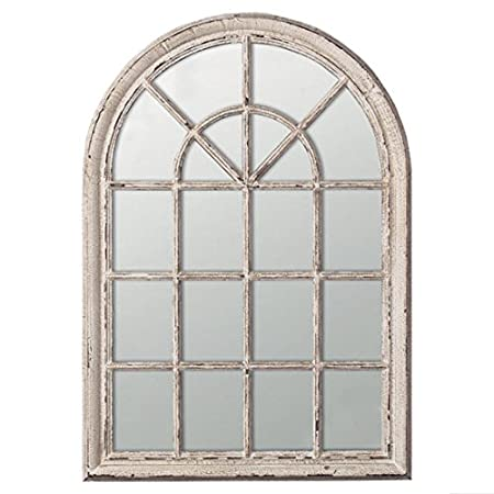 Heligan Arched Window Wall Mirror,W100 x H150cm