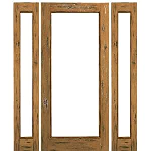 French Door Knotty Alder 1 Lite Ext 1 2 Aaw Doors Inc