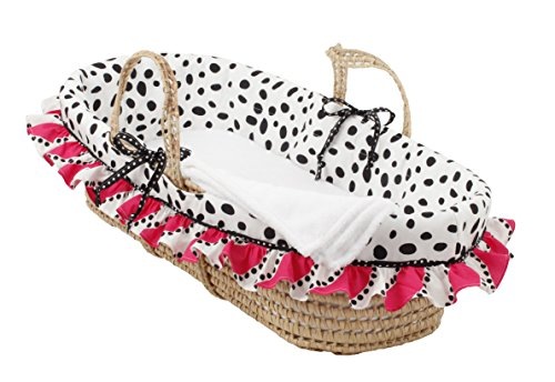 Cotton Tale Designs Moses Basket, Hottsie Dottsie