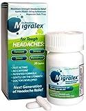 Dr. Mauskops Migralex 20 Caplets (Pack of 3)