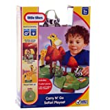 New Little Tikes Carry n Go Safari Portable Play Set