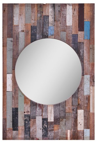 Ren-Wil Mt1156 Turin Wall Mount Mirror By Kelly Stevenson And Jonathan Wilner, 36 By 26-Inch back-661087