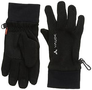 VAUDE Kinder Handschuhe Kids Karibu Gloves, Black, 2, 06927