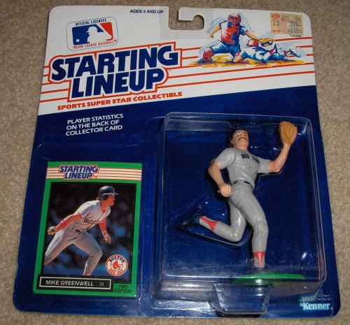 1989 Mike Greenwell MLB Starting Lineup