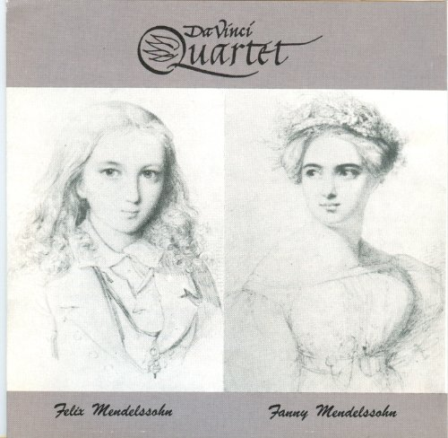 Davinci Quartet Plays Mendelssohn back-197661