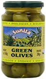 Sunita Organic Green Olives 360 g (Pack of 6)