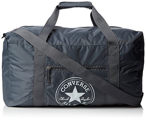 Converse Ct Packable Gym Nylon Borsa, Unisex Adulto, Grigio, 49X28X27