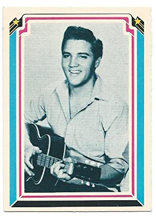 1978 Elvis Presley Collectible Trading Card #50 at Amazon's
