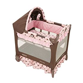 Graco Travel Lite Crib with Bassinet