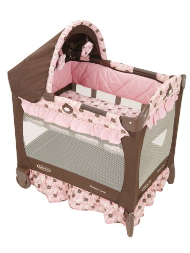 how small is graco travel lite portable crib with bassinet. Black Bedroom Furniture Sets. Home Design Ideas