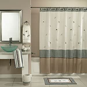 Home Classics Shower Curtain Shalimar Dragonflies