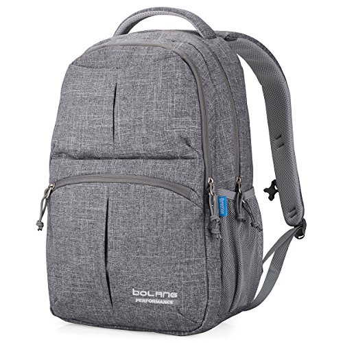Bolang Water Resistant Nylon School Bag College Laptop Backpack