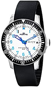 Fortis Men's 648.10.12 K B-42 Stainless Steel Automatic Dive Watch