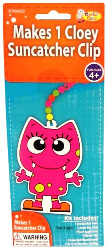 Monster Camp Cloey Back Pack Clip Craft Activity Kit