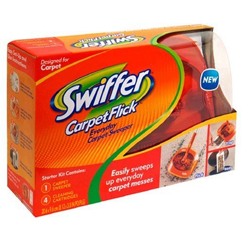 Swiffer Carpet Flick Carpet Sweeper Starter Kit 1 Kit