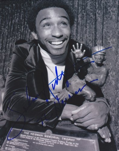 Johnny Rodgers Autographed / Hand Signed Nebraska Cornhuskers 8x10 Photo - 1972 Heisman Trophy Winner