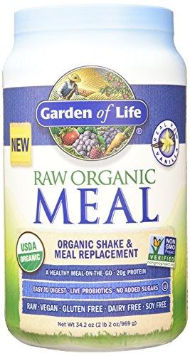 Garden of Life Raw Organic Meal Vanilla 34.2oz (969g) Powder (Raw Protein Beyond Organic compare prices)