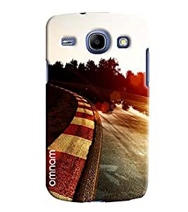 Omnam F1 Track Race Road Printed Designer Back Cover Case For Samsung Galaxy Galaxy Core