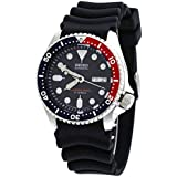 Seiko Divers Automatic Black Dial Black Rubber Mens Watch SKX009J1