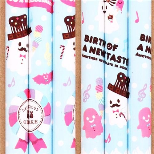 blue ghost sweets candy Halloween pencil from Japan