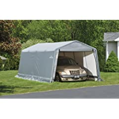 ShelterLogic 10 x 20- Feet New Auto Shelter,Tan by ShelterLogic
