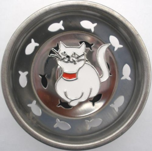 Linda Lou Cat Kitchen Strainer