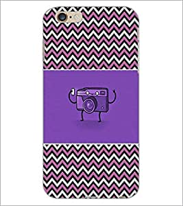 PrintDhaba Camera D-2612 Back Case Cover for APPLE IPHONE 6 PLUS (Multi-Coloured)