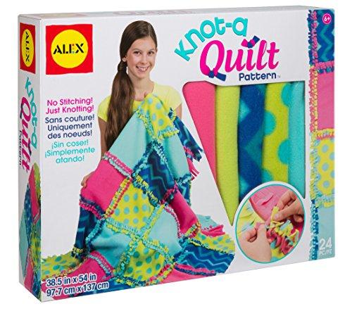 ALEX Toys Craft Knot-A-Quilt Pattern Kit