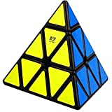 CuberSpeed QiYi QiMing Pyramid black Magic Cube MoFangGe QiMing Pyramid black Speed cube