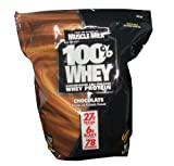 51hTt1M7OuL. SL160  CytoSport makers of Muscle Milk   100% Whey Protein 27g 6lb Bag of Chocolate